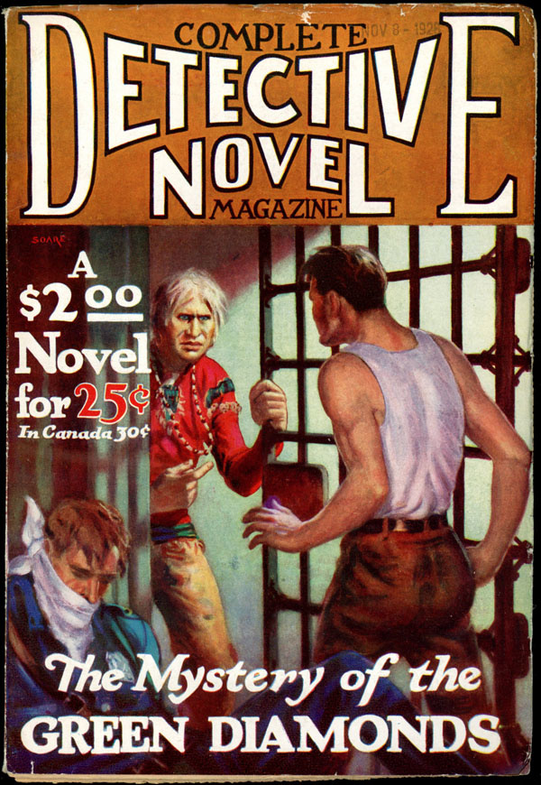 COMPLETE DETECTIVE NOVEL MAGAZINE. November, 1928