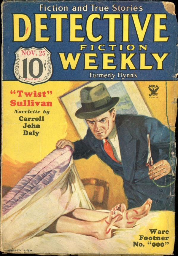 DETECTIVE FICTION WEEKLY. November 25, 1933