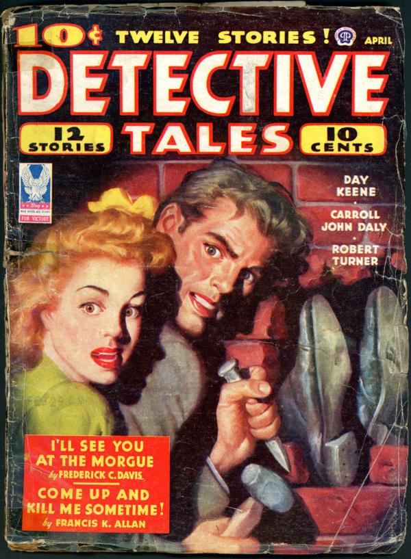 DETECTIVE TALES. April 1944