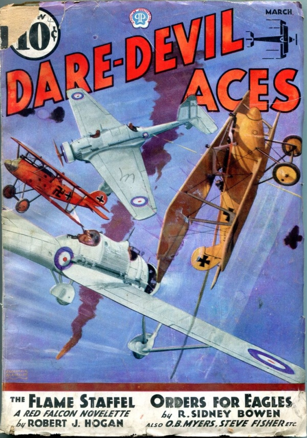 Dare-Devil Aces March 1936