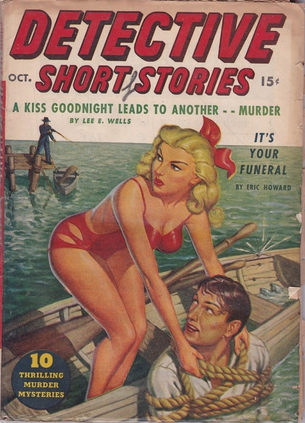 Detective Short Stories October 1947