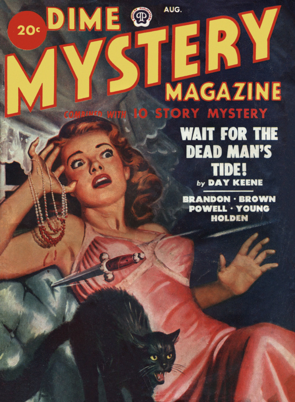 Dime Mystery August 1949