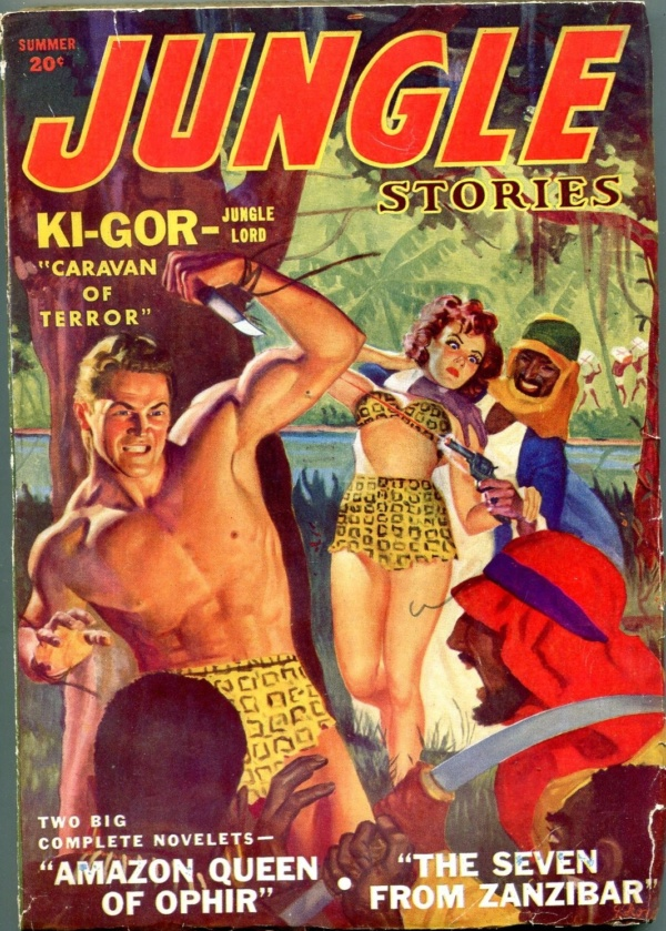 Jungle Stories Winter 1952