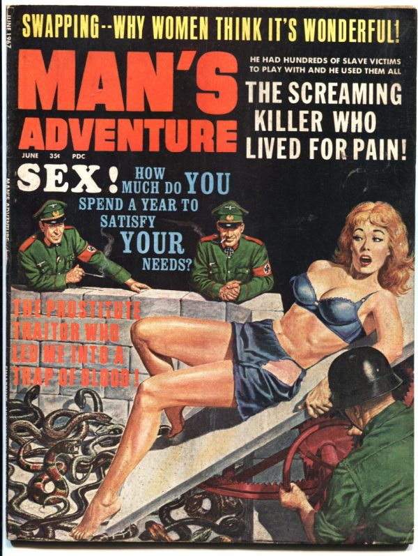 Man's Adventure Magazine June 1967