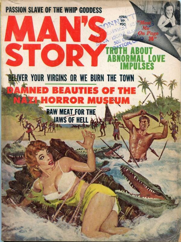 Man's Story April 1962