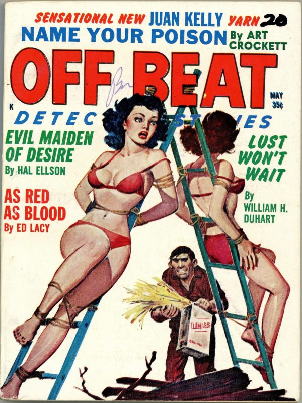 Off Beat Detective May 1962