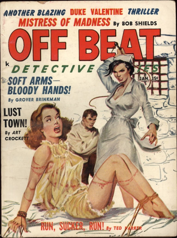 Off Beat Detective Stories Jan 1961