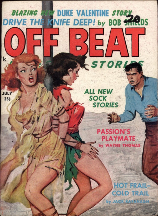 Off Beat Detective Stories Jul 1960