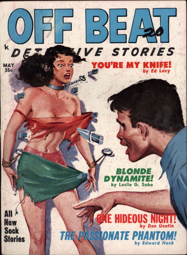 Off Beat Detective Stories May 1960