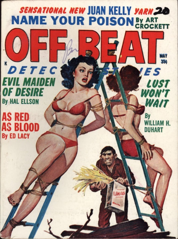 Off Beat Detective Stories May 1962