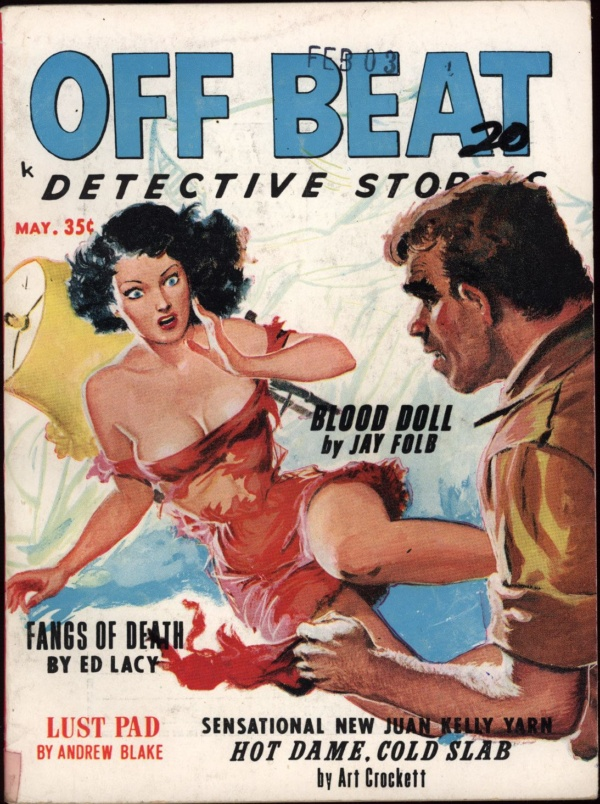 Off Beat Detective Stories May 1963