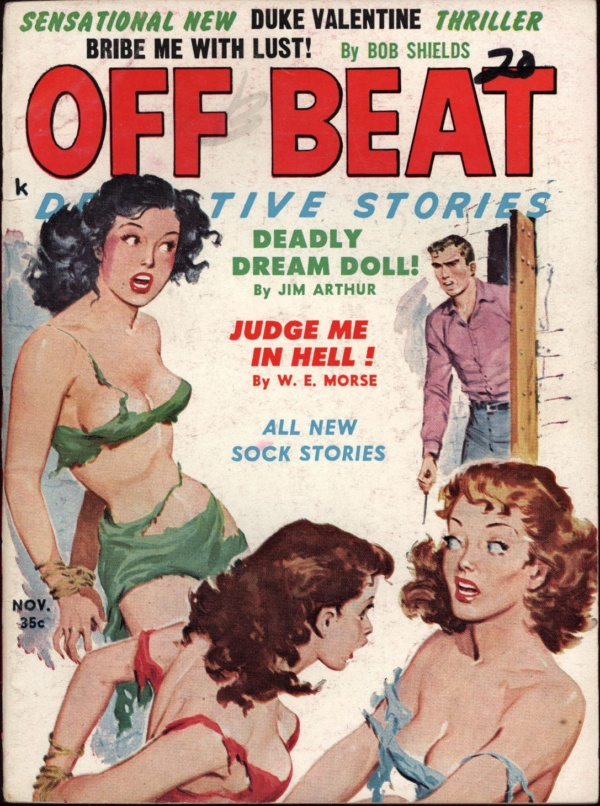 Off Beat Detective Stories Nov 1960