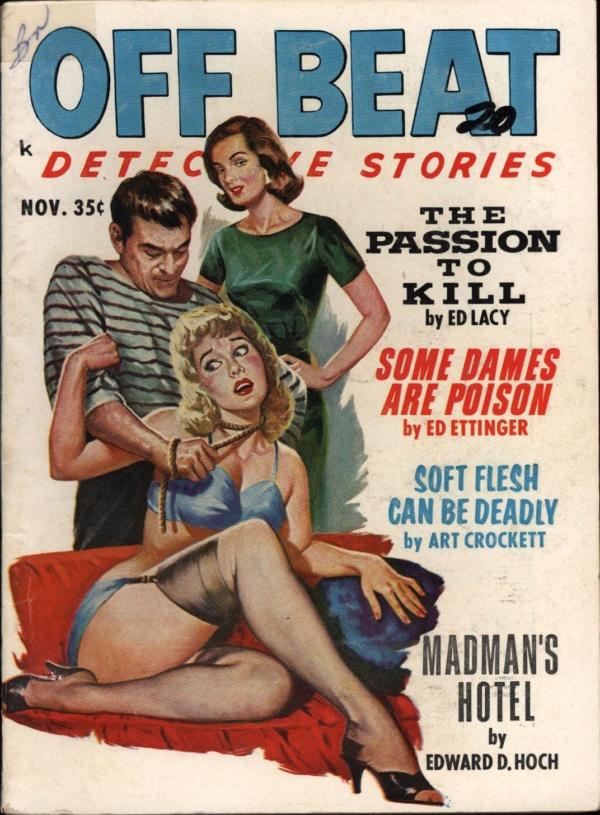 Off Beat Detective Stories Nov 1962