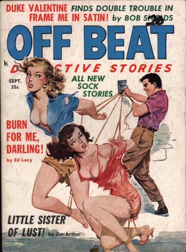 Off Beat Detective Stories Sept 1960