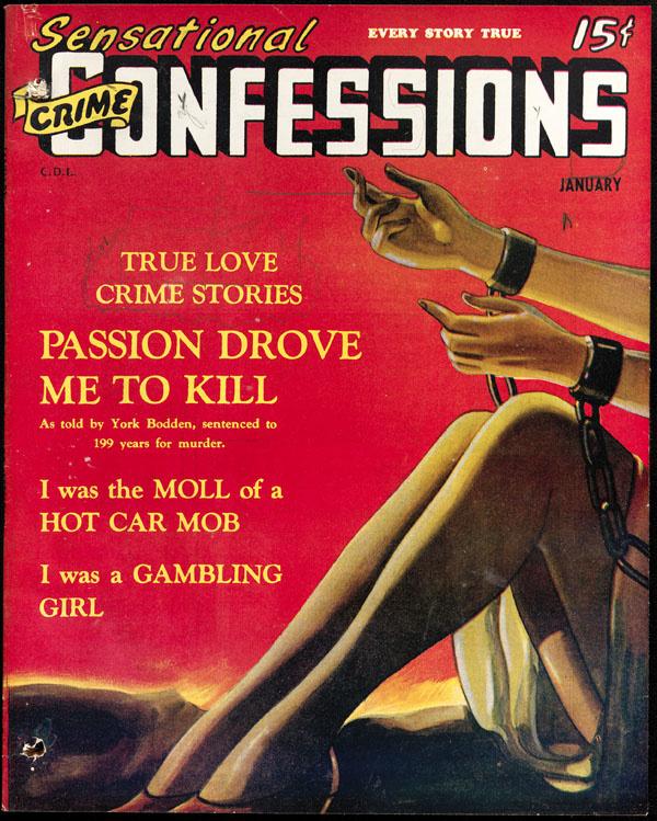 Sensational Crime Confessions January 1946
