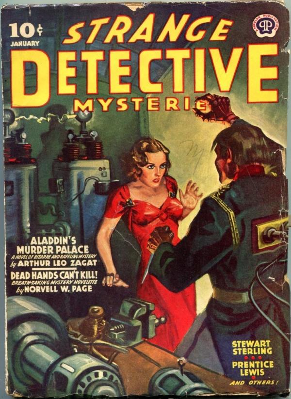 Strange Detective Mysteries January 1940