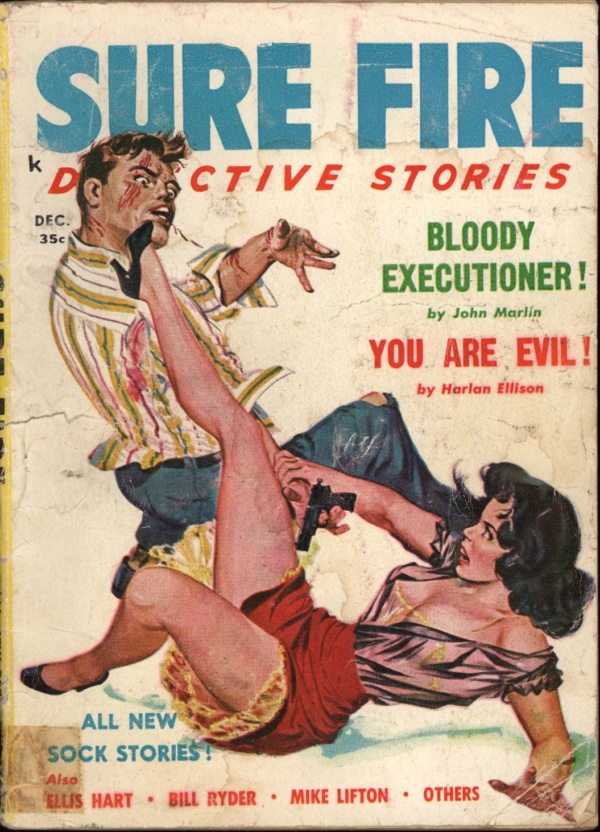 Sure Fire Detective Stories Dec 1957