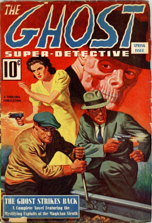 The Ghost Super-Detective, Spring 1940