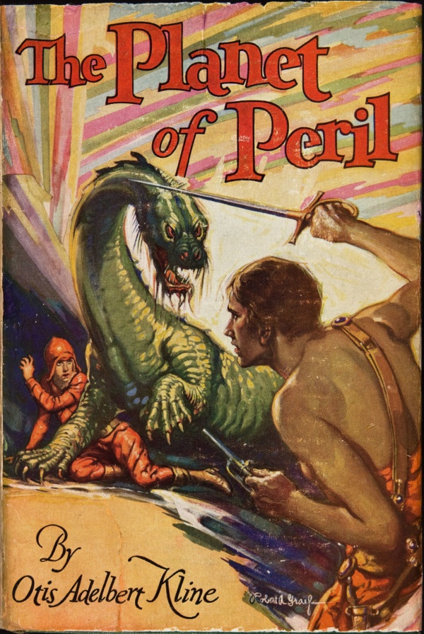 The Planet of Peril 1929 First Edition