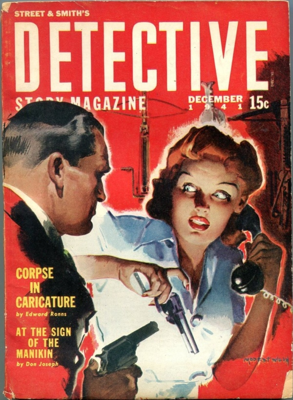 Detective Story December 1941