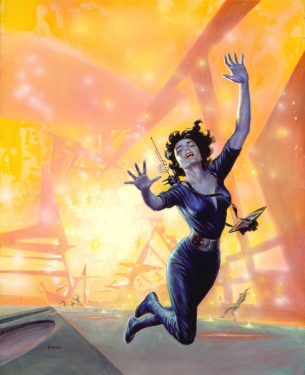 ED EMSHWILLER Disintegration of a Force-Field