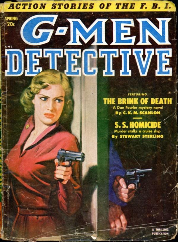G-MEN DETECTIVE. Spring, 1953