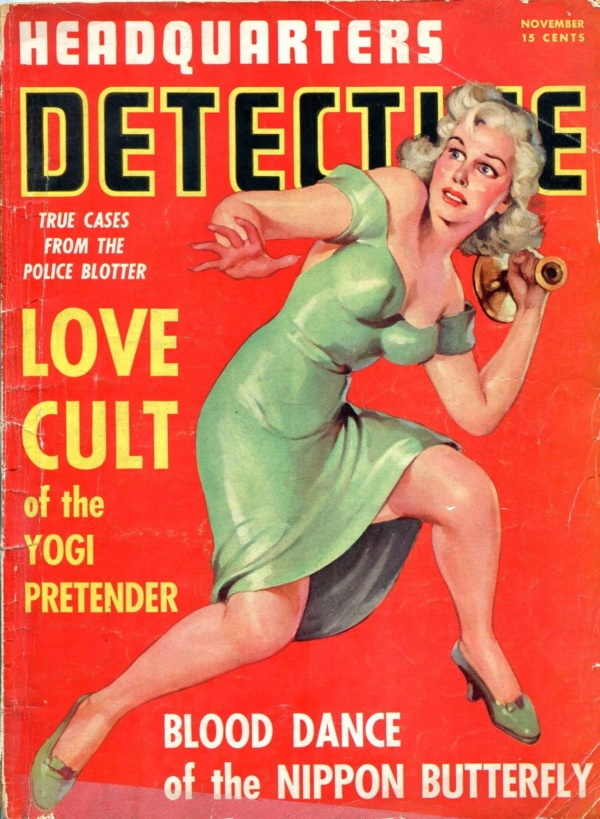 Headquarters Detective November 1941