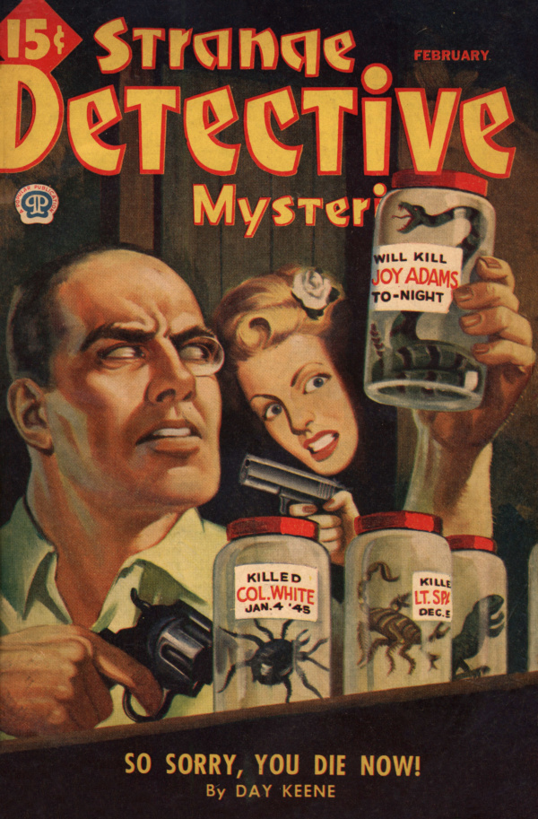 Strange Detective February 1945