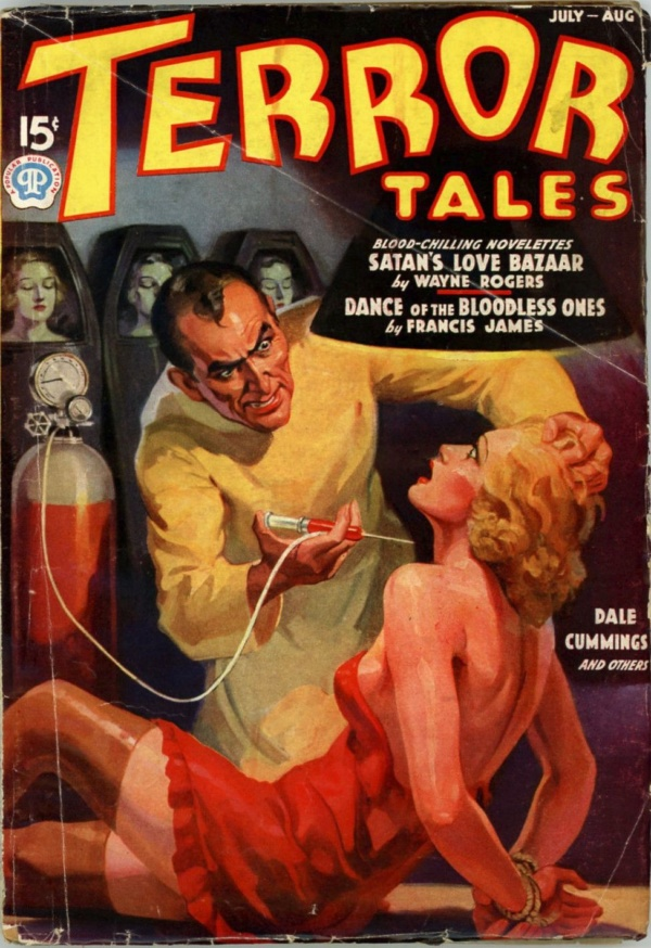 Terror Tales, July-August 1937