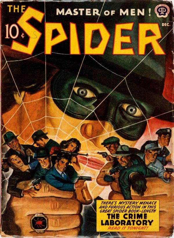 The Spider - December 1941