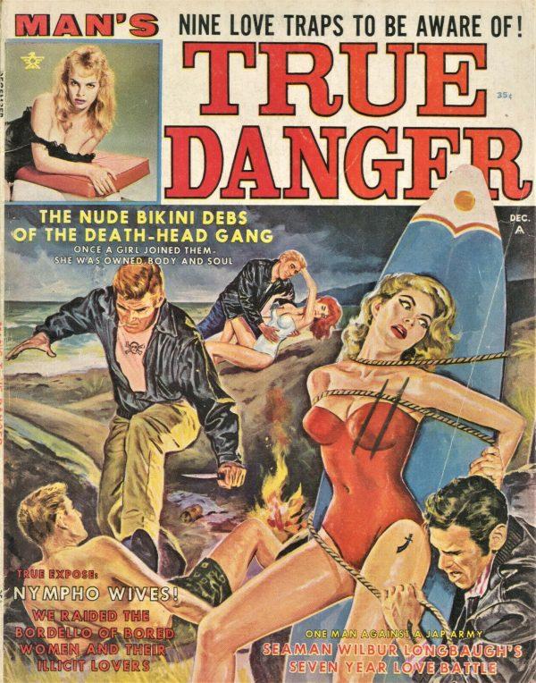 True Danger Magazine December 1962