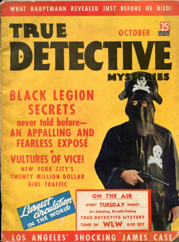 True Detective Mysteries October 1936