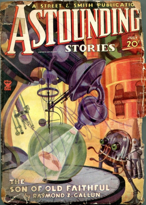 Astounding Stories July 1935
