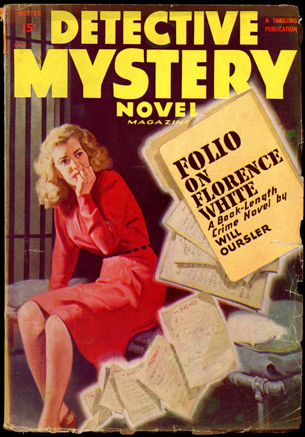 DETECTIVE MYSTERY NOVEL MAGAZINE. Winter, 1948