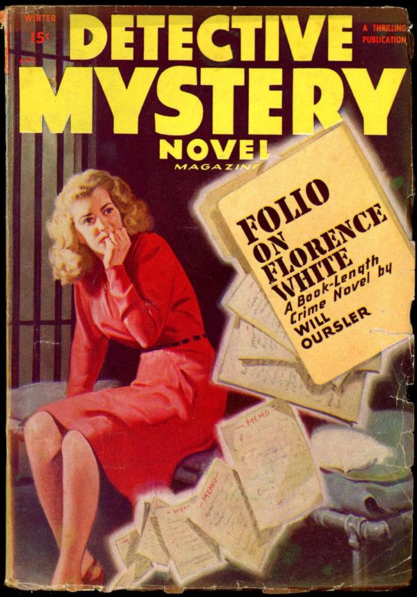 DETECTIVE MYSTERY NOVEL MAGAZINE. Winter, 1948