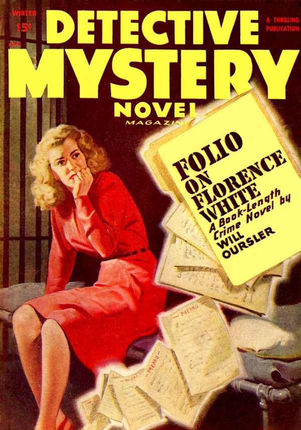 Detective Mystery Novel Magazine Winter 1948