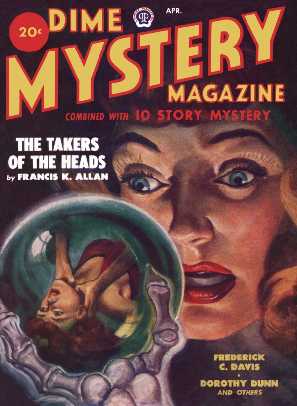 Dime Mystery April 1949