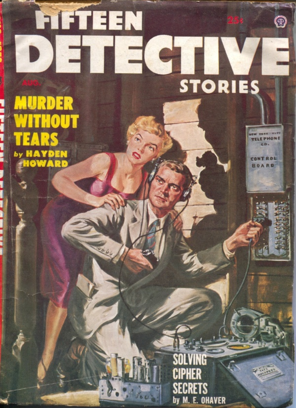 Fifteen Detective Stories August 1953