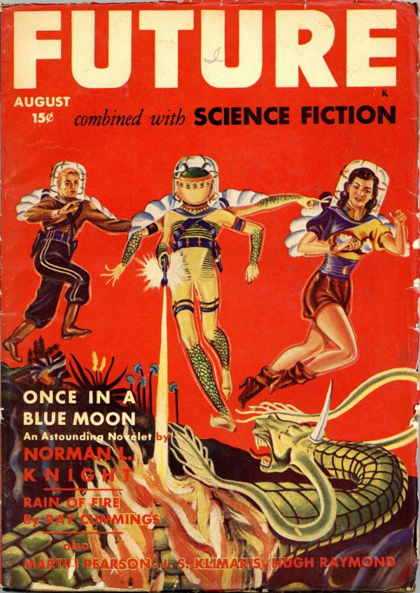 Future Combined with Science Fiction August 1942