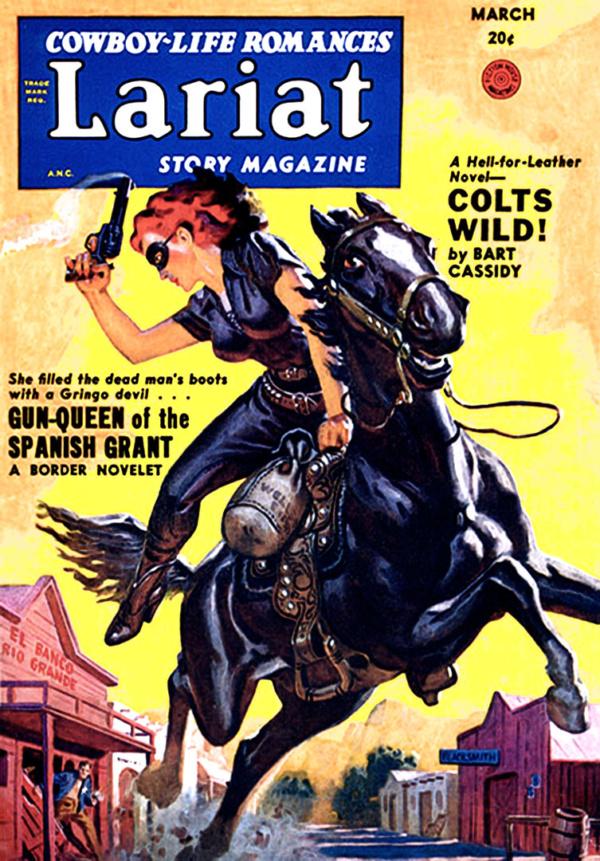 Lariat Story Magazine-1950 03-Allen Anderson
