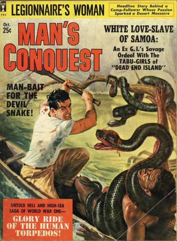 Man's Conquest Magazine October 1959