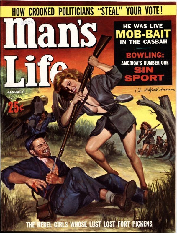 Man's Life Jan 1962