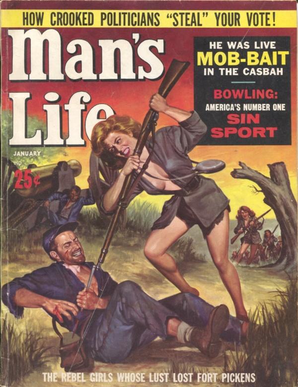 Man's Life January 1962