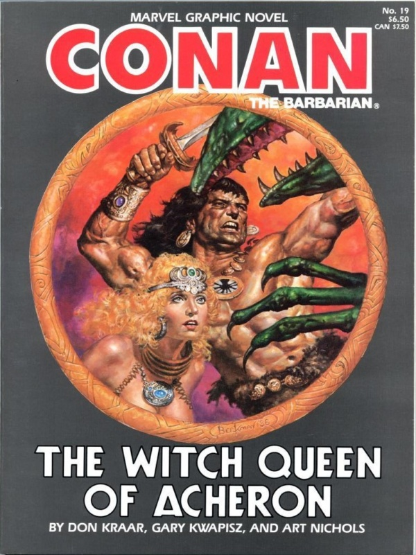 Marvel Graphic Novel 19 Witch Queen of Acheron