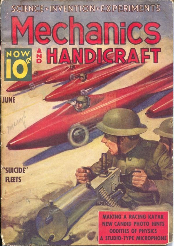 Mechanics And Handicraft June 1938