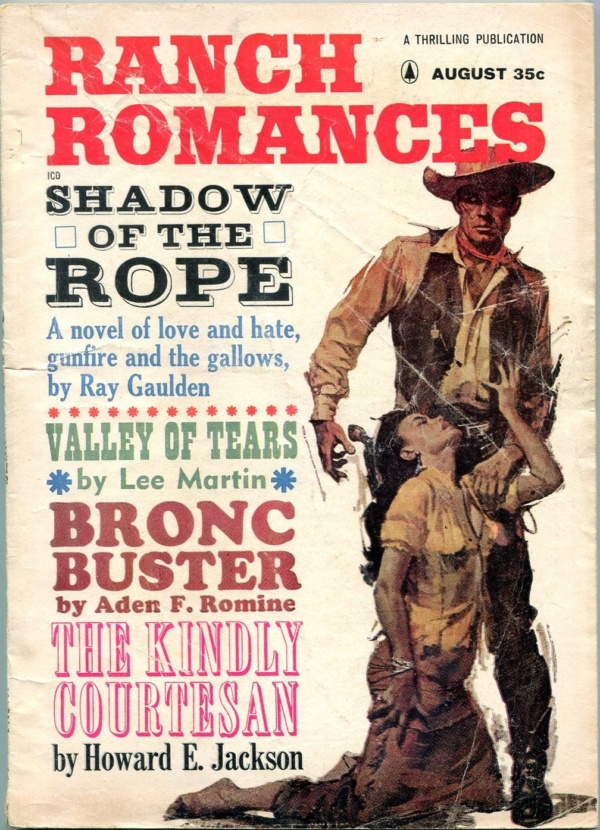 Ranch Romances August 1963