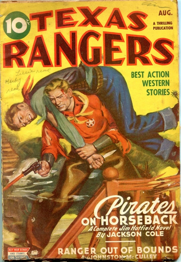 Texas Rangers August 1945