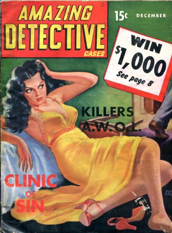 Amazing Detective Cases December 1941