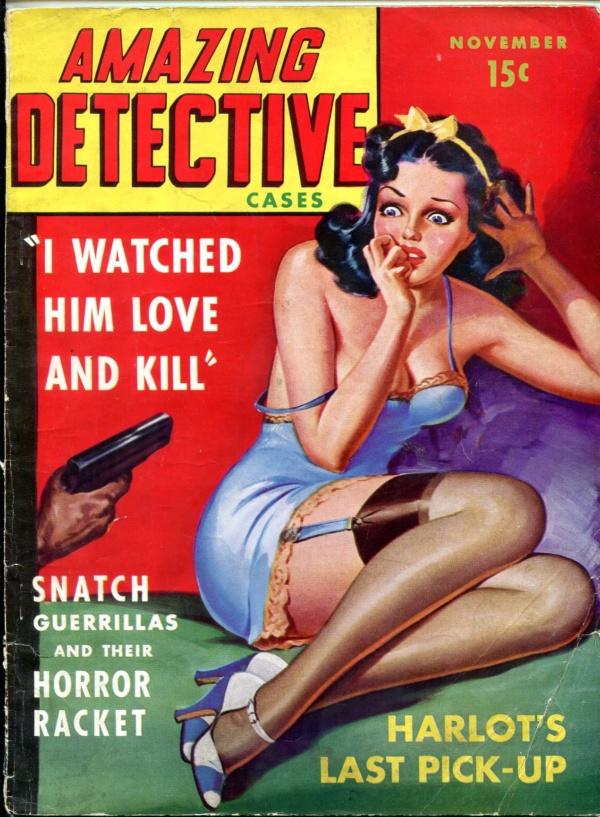 Amazing Detective Cases November 1941