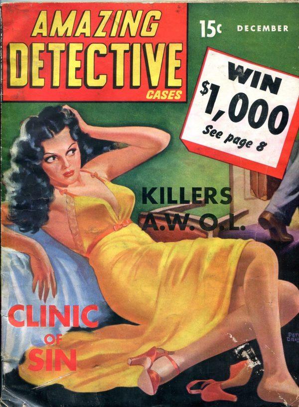Amazing Detective December 1941